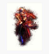 Dante - Devil May Cry Art Print