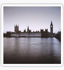 Fall in London Sticker