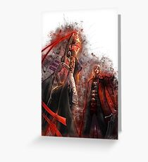 Dante 2 - Devil May Cry Greeting Card