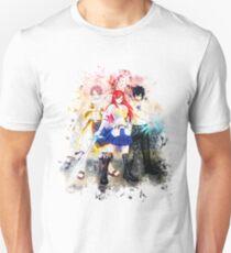 Natsu Gray & Erza - Fairy Tail T-Shirt