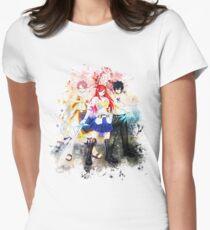 Camiseta entallada para mujer Natsu Gray y Erza - Fairy Tail