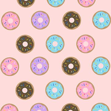 Doughnuts - Pink by kmacneil91