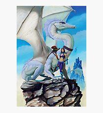 Scout Dragon Photographic Print