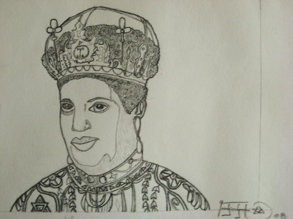 Empress Menen(Queen Omega) by debteraI
