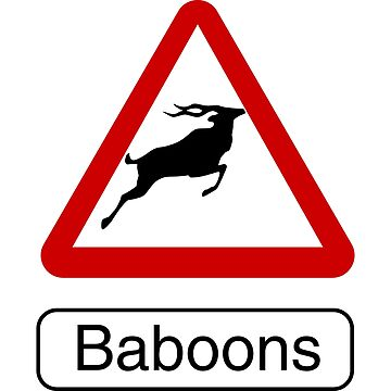 watch out for the baboons by david-satrio