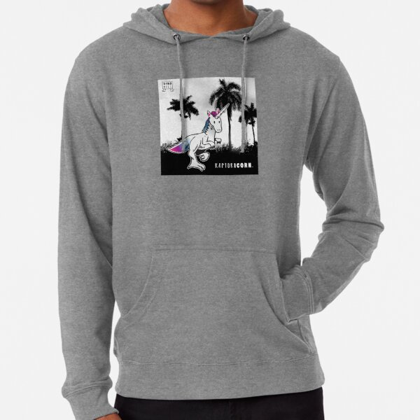 RAPTORICORN™ in Miami Lightweight Hoodie