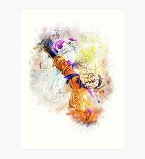 Goku & Frieza - Dragon Ball Z Art Print