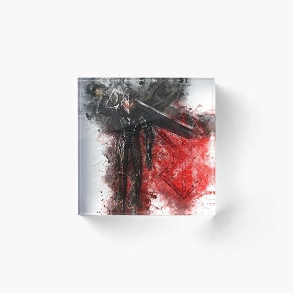 Guts - Berserk Acrylic Block