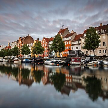 Sunset at colourful Christianshavn by LukaSkracic