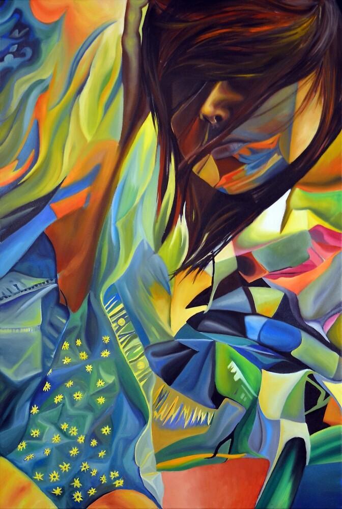 Cause I'm broken, 120-80cm, 2016, oil on canvas by oanaunciuleanu