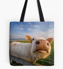 Cheeky Cow Tote Bag