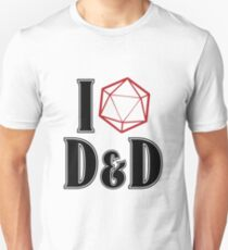 I <3 D&D Unisex T-Shirt