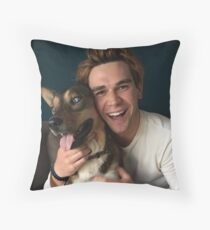 KJ Apa - actor Throw Pillow