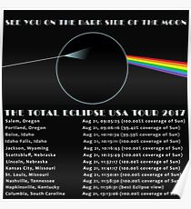 Total Eclipse 2017 - Dark Side Of The Moon Poster