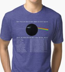 Total Eclipse 2017 - Dark Side Of The Moon Tri-blend T-Shirt