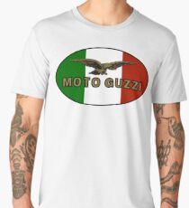 Moto Guzzi ITALIAN FLAG Men's Premium T-Shirt