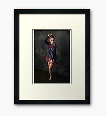 Sarah Hyland Framed Print