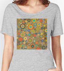 Floral Pattern No.4 Women's Relaxed Fit T-Shirt