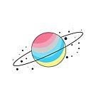 Genderflux Pride Planet by SavaMari