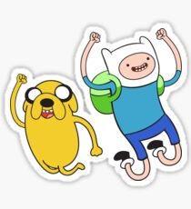 Finn and Jake - Adventure Time Sticker
