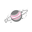 Demigirl Pride Planet by SavaMari