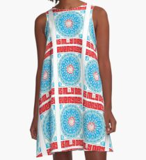 Everyday is May Day A-Line Dress