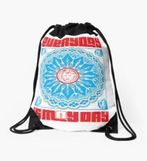 Everyday is May Day Drawstring Bag