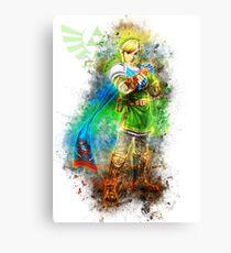 Link - Zelda Canvas Print