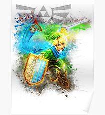 Link 2 - Zelda Poster