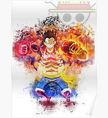 Luffy Gear 4 - One Piece Poster