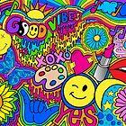 Hippie Vibes von Corey Paige Designs