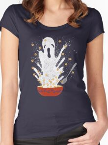 Haunted Breakfast Women's Fitted Scoop T-Shirt