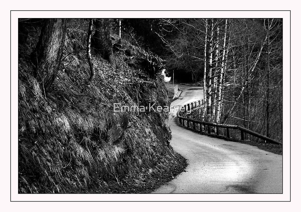 Mountain road by Emma Kearsey