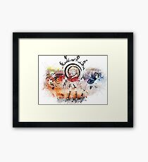 Team 7 - Naruto Framed Print