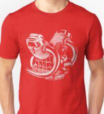 V-twin Moto Guzzi Engine Unisex T-Shirt