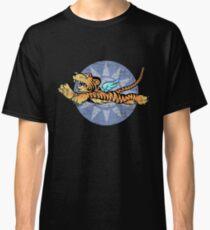 Flying Tigers Tshirt - Weathered Version - Airplane Insignia - World War II - Military Memorabilia - Military Insignia Tshirt Classic T-Shirt