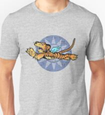 FLYING TIGERS INSIGNIA - (Weathered Version) - WORLD WAR II - AMERICAN VOLUNTEER GROUP T-Shirt