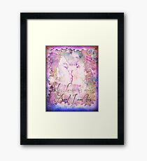 I am His and He is Mine Framed Print