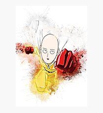 Saitama 2 - One Punch Man Photographic Print