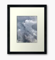Grey Skies Framed Print