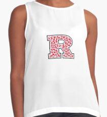 Rutgers University Scarlet Knights Design Contrast Tank