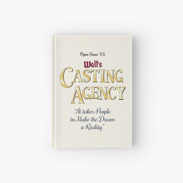 Walt's Casting Agency Hardcover Journal