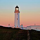 Mull of Galloway Lighthouse Sunset. by youmeus