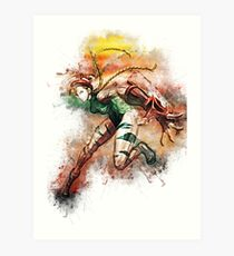 Cammy - Street Fighter Art Print