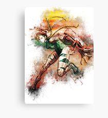 Cammy - Street Fighter Canvas Print