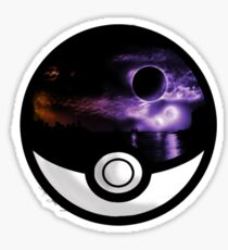 The World In A Pokeball Sticker