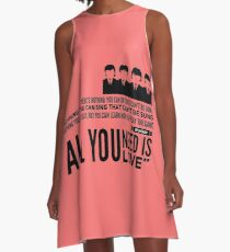 Beatles  A-Line Dress