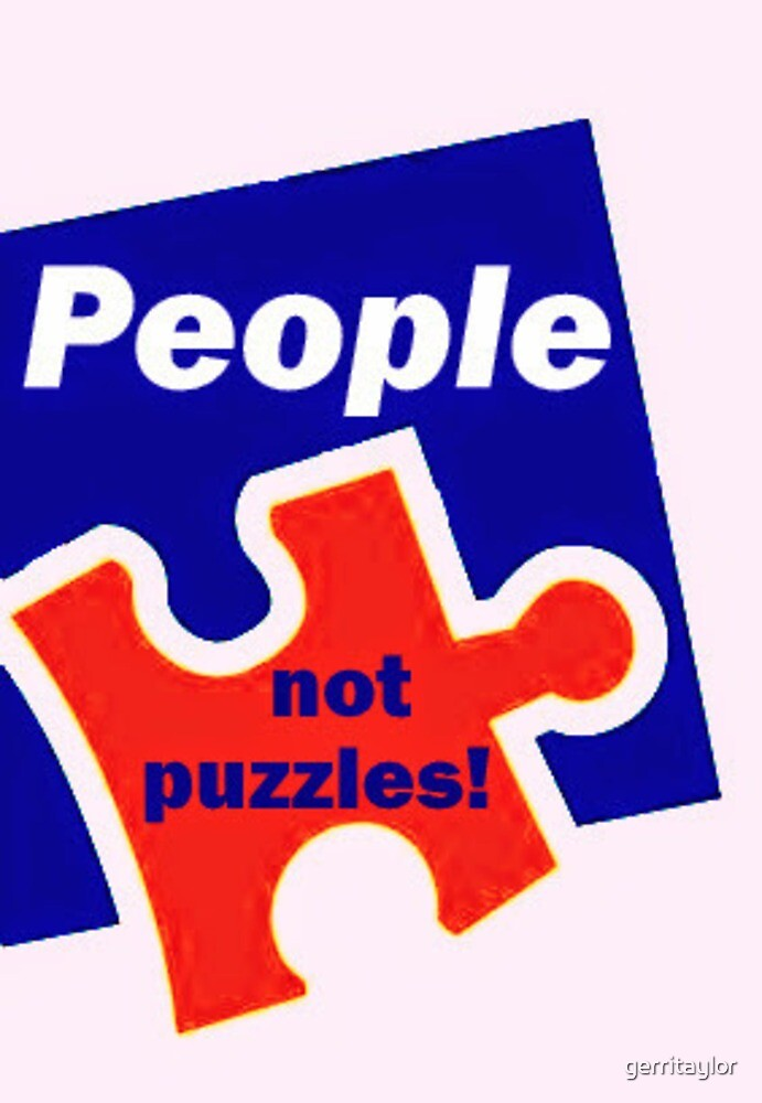 People not puzzles by gerritaylor