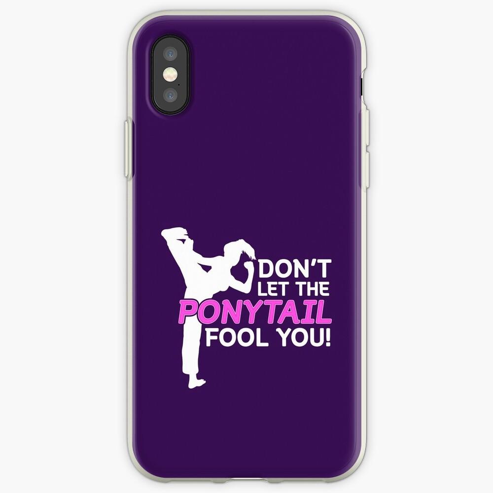 Karate Girls Lassen Sie sich nicht vom Pferdeschwanz täuschen iPhone-Hülle & Cover