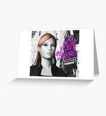 Rachel Amber - Before the Storm - Life is Strange 1.5 Greeting Card